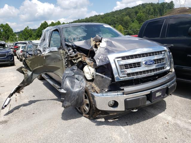 Salvage cars for sale at Hurricane, WV auction: 2014 Ford F150 Super
