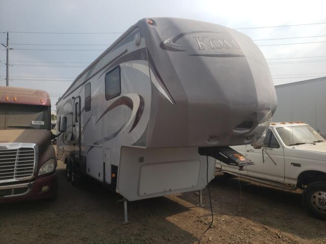 Salvage cars for sale from Copart Eugene, OR: 2012 Komfort Trailer