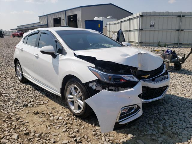 Salvage cars for sale from Copart Earlington, KY: 2018 Chevrolet Cruze LT