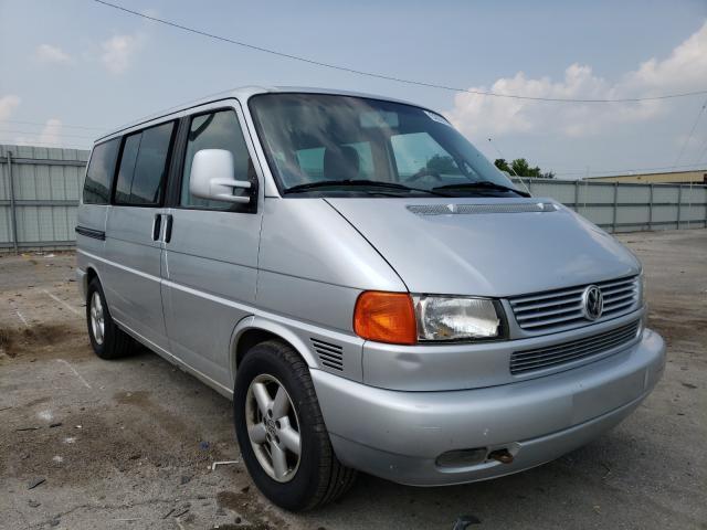 Volkswagen Vehiculos salvage en venta: 2002 Volkswagen Eurovan GL