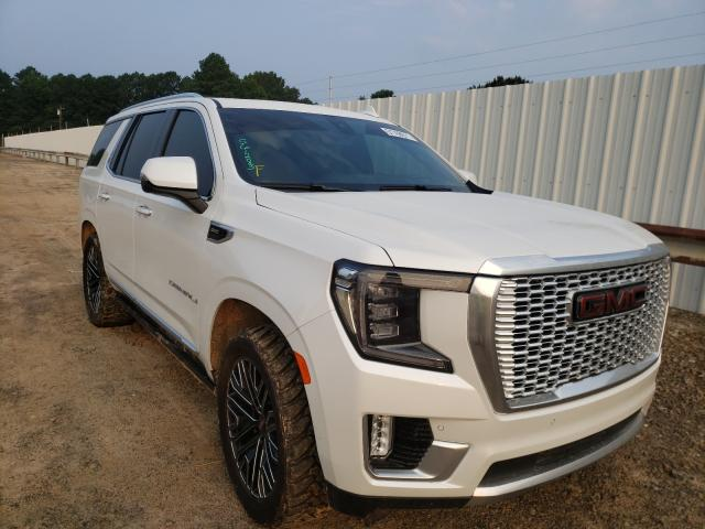 Salvage cars for sale at Conway, AR auction: 2021 GMC Yukon Dena