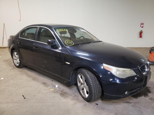 BMW Vehiculos salvage en venta: 2006 BMW 525 XI