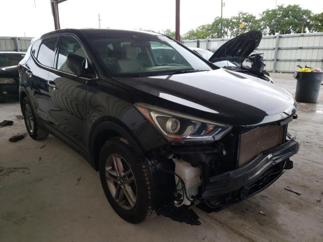 Salvage cars for sale from Copart Homestead, FL: 2018 Hyundai Santa FE S