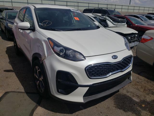 Salvage cars for sale from Copart Albuquerque, NM: 2021 KIA Sportage L