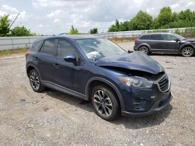 Salvage cars for sale from Copart Houston, TX: 2016 Mazda CX-5 GT