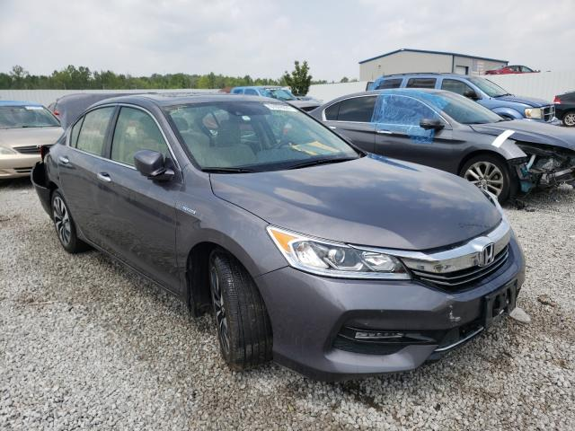 Salvage trucks for sale at Louisville, KY auction: 2017 Honda Accord Hybrid