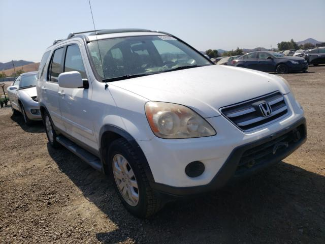 Salvage cars for sale from Copart San Martin, CA: 2006 Honda CR-V SE