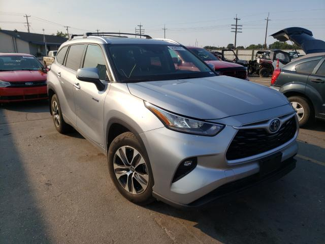 Salvage cars for sale from Copart Nampa, ID: 2020 Toyota Highlander