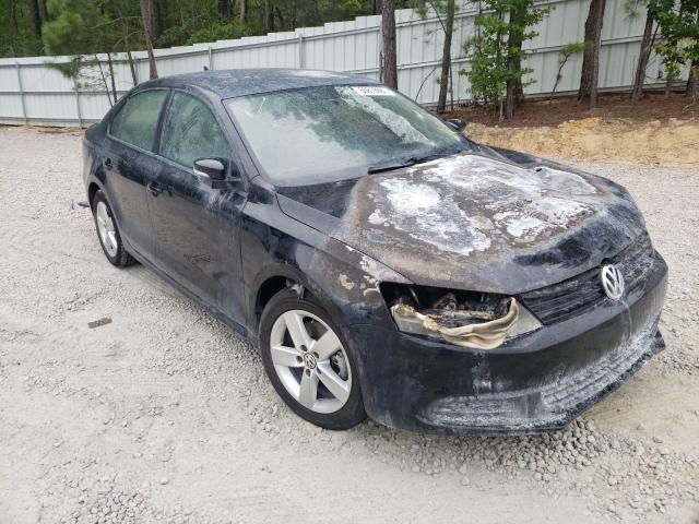 Salvage cars for sale from Copart Knightdale, NC: 2012 Volkswagen Jetta TDI