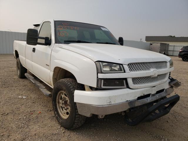 Vehiculos salvage en venta de Copart Bismarck, ND: 2004 Chevrolet Silverado