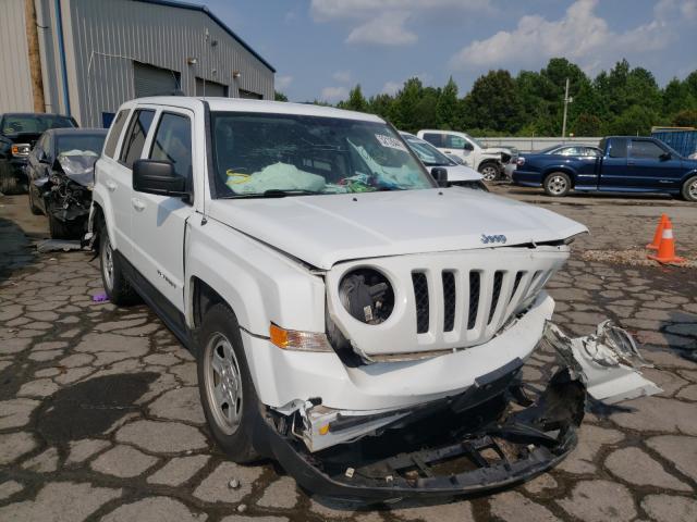 Salvage cars for sale at Memphis, TN auction: 2016 Jeep Patriot SP