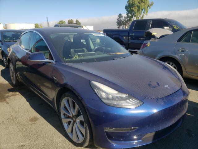 Vehiculos salvage en venta de Copart Martinez, CA: 2018 Tesla Model 3