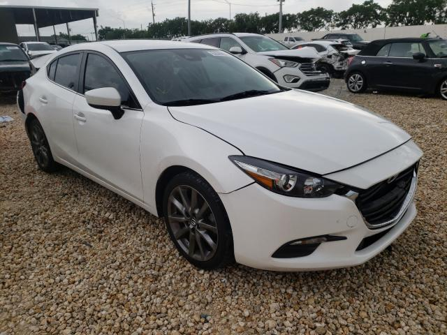 Salvage cars for sale from Copart Homestead, FL: 2018 Mazda 3 Touring