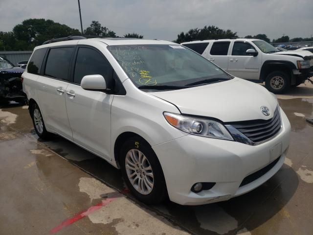 Vehiculos salvage en venta de Copart Wilmer, TX: 2015 Toyota Sienna XLE