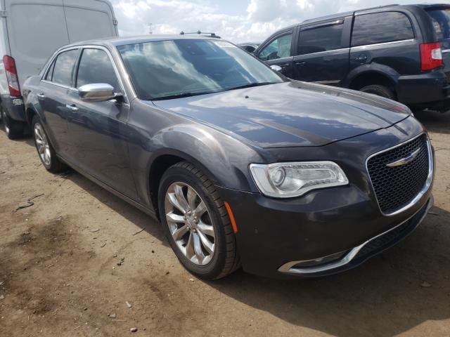 Salvage cars for sale from Copart Woodhaven, MI: 2017 Chrysler 300C
