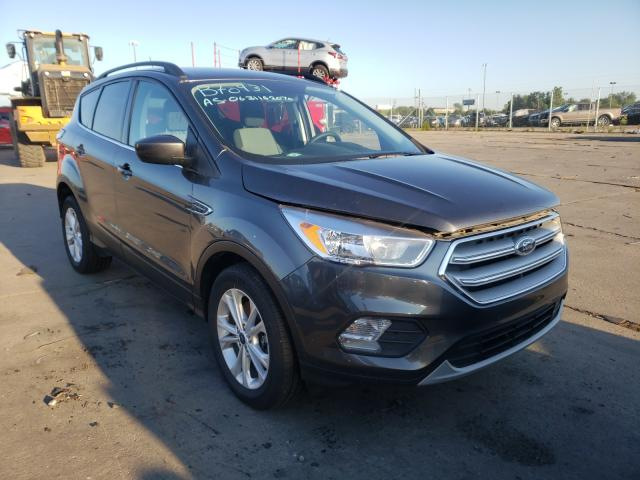 Salvage cars for sale from Copart Woodhaven, MI: 2018 Ford Escape SE