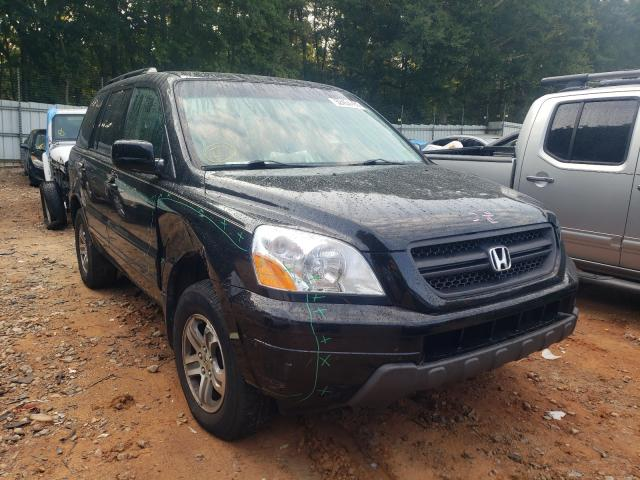 Salvage cars for sale from Copart Austell, GA: 2004 Honda Pilot EXL