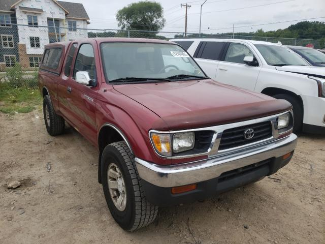 Salvage cars for sale from Copart Madison, WI: 1996 Toyota Tacoma XTR