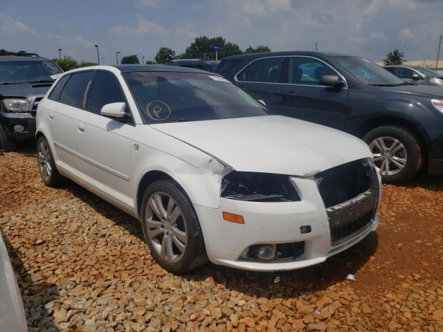 Salvage cars for sale at Tanner, AL auction: 2007 Audi A3 2