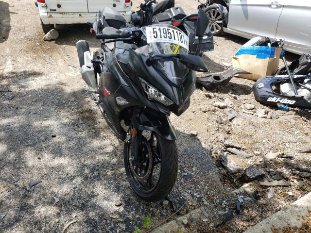 Salvage cars for sale from Copart Wheeling, IL: 2021 Kawasaki EX400