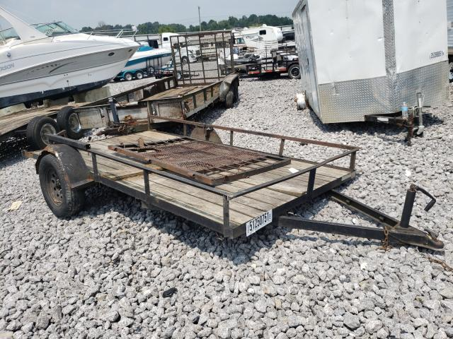 Salvage cars for sale from Copart Madisonville, TN: 2007 Trail King Cargo