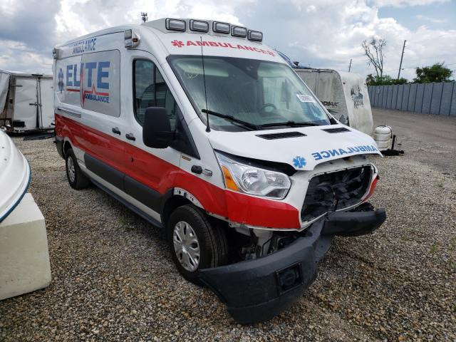 Salvage cars for sale from Copart Apopka, FL: 2017 Ford Transit T