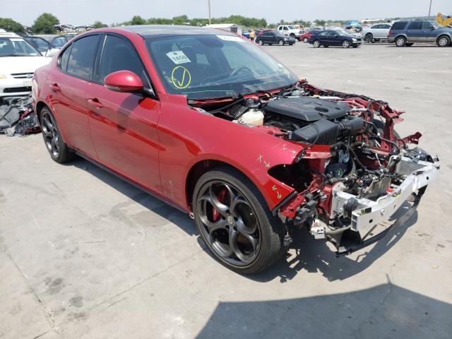 Alfa Romeo salvage cars for sale: 2017 Alfa Romeo Giulia TI