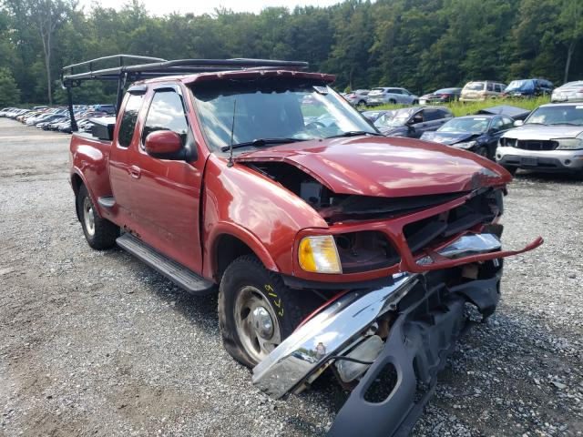 Salvage trucks for sale at Finksburg, MD auction: 2001 Ford F150