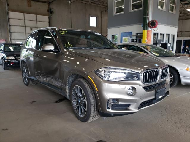 Salvage cars for sale from Copart Blaine, MN: 2017 BMW X5 XDRIVE3