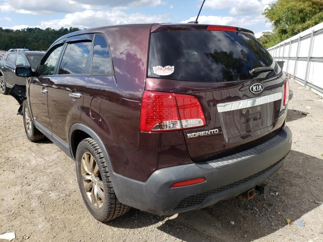 2012 KIA SORENTO BA 5XYKTCA65CG222973