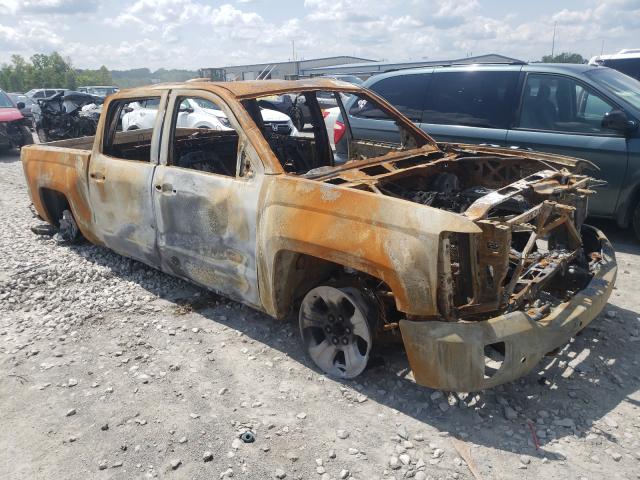 Salvage cars for sale from Copart Alorton, IL: 2017 Chevrolet Silverado