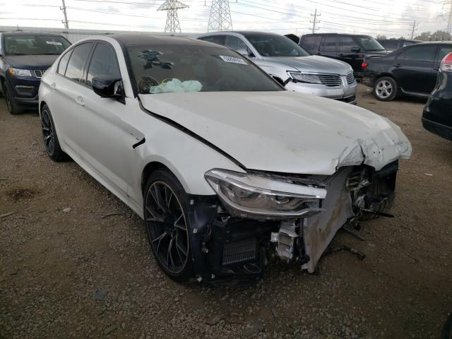 Salvage cars for sale from Copart Elgin, IL: 2020 BMW M5 Base