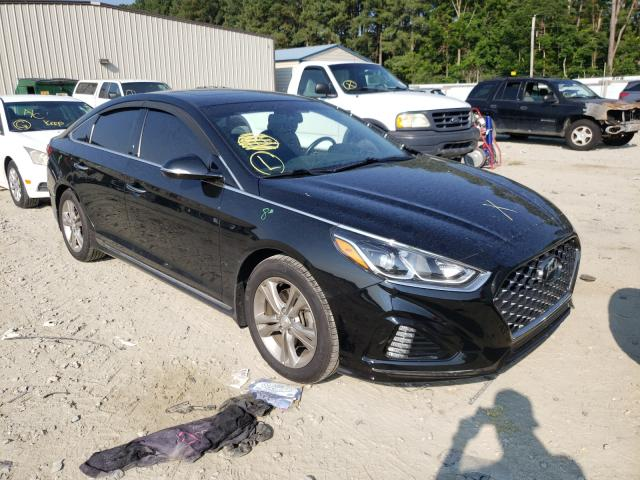 Salvage cars for sale at Seaford, DE auction: 2018 Hyundai Sonata Sport