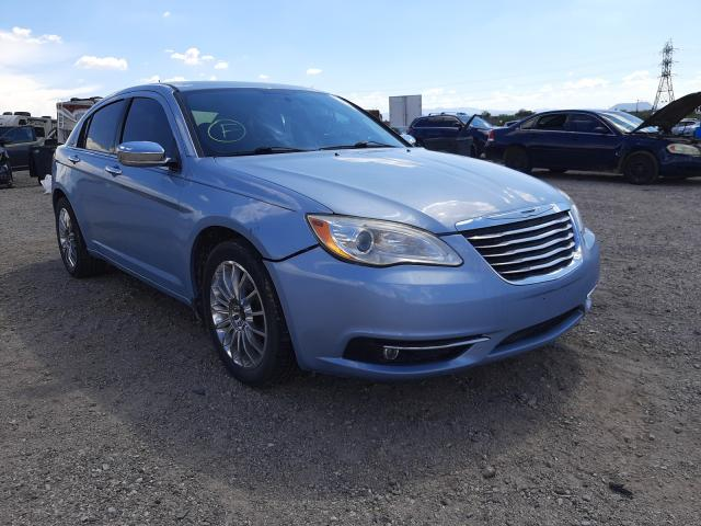 Salvage cars for sale at Tucson, AZ auction: 2012 Chrysler 200 Limited