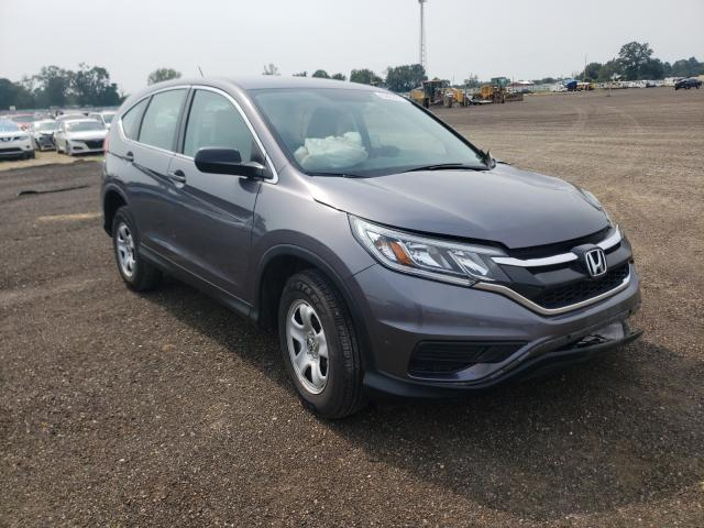 Salvage cars for sale from Copart Newton, AL: 2016 Honda CR-V LX