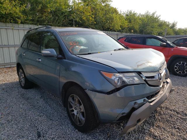 Acura salvage cars for sale: 2008 Acura MDX Techno