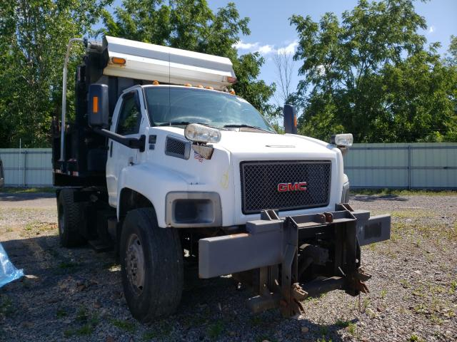 Salvage cars for sale from Copart Central Square, NY: 2008 GMC C8500 C8C0