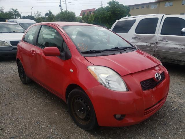 Toyota Yaris salvage cars for sale: 2008 Toyota Yaris