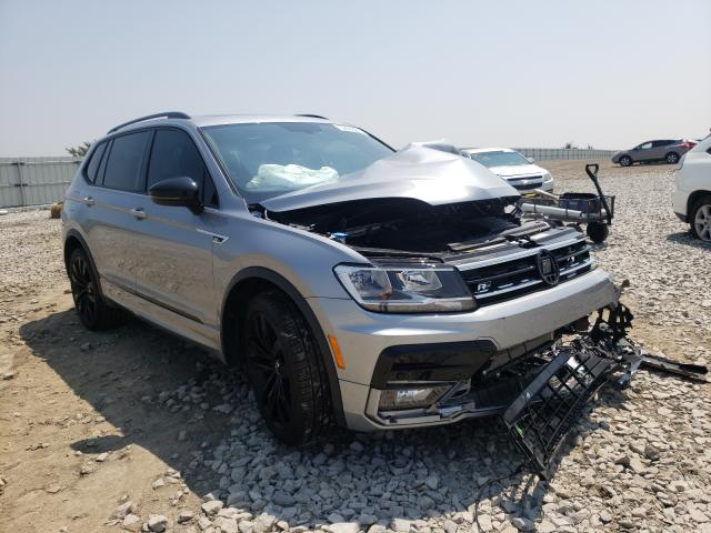 Salvage cars for sale from Copart Earlington, KY: 2021 Volkswagen Tiguan SE