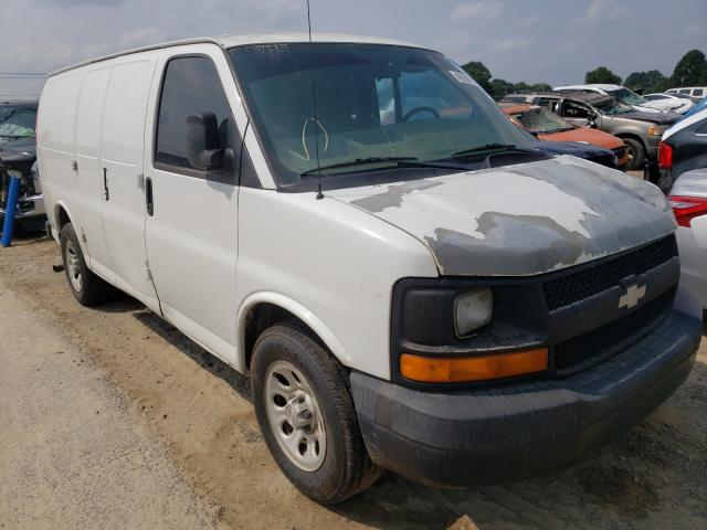 Salvage cars for sale from Copart Conway, AR: 2009 Chevrolet Express G1