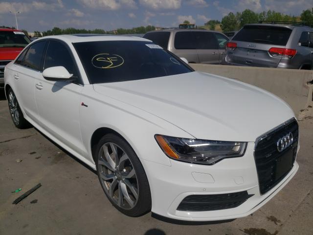 Audi salvage cars for sale: 2013 Audi A6 Prestige