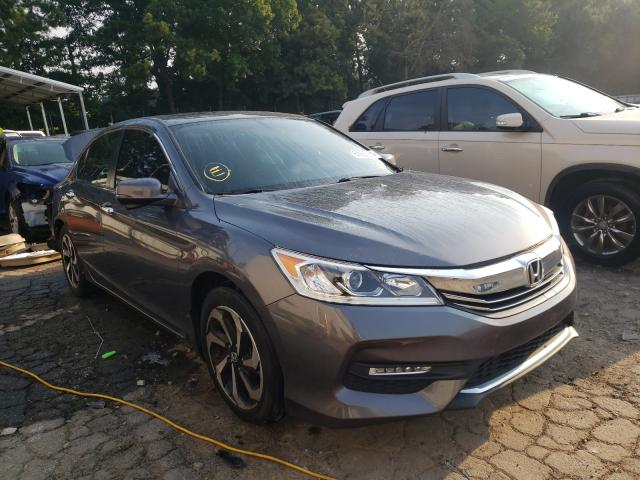 Salvage cars for sale from Copart Austell, GA: 2017 Honda Accord EXL