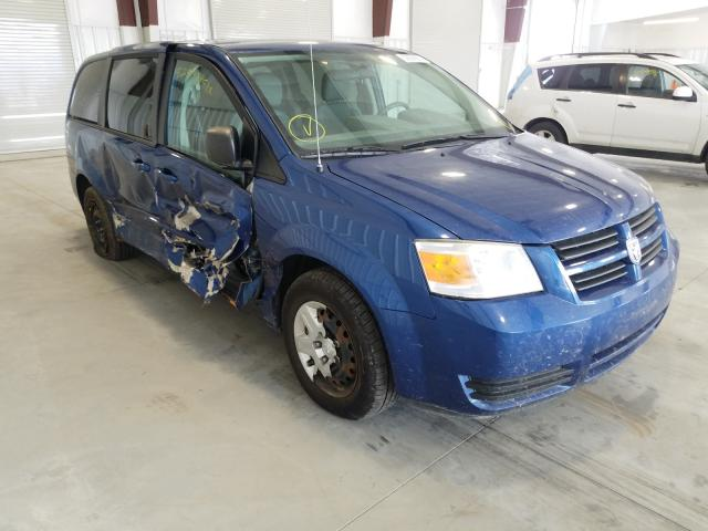 Salvage cars for sale from Copart Avon, MN: 2010 Dodge Grand Caravan