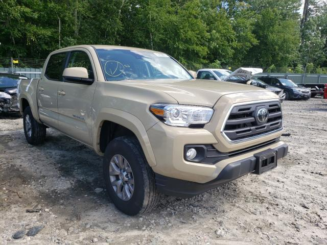 Salvage cars for sale at Candia, NH auction: 2019 Toyota Tacoma DOU