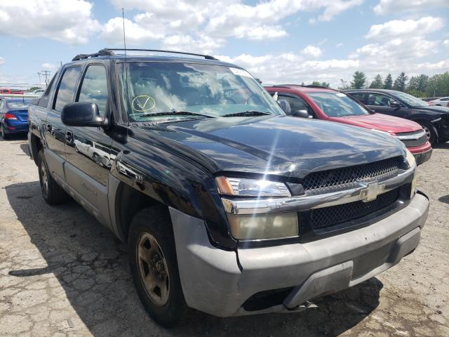 Salvage cars for sale from Copart Pennsburg, PA: 2002 Chevrolet Avalanche