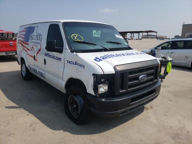 Salvage cars for sale from Copart Wilmer, TX: 2011 Ford Econoline