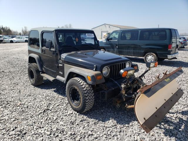 Salvage cars for sale from Copart Montreal Est, QC: 1997 Jeep Wrangler