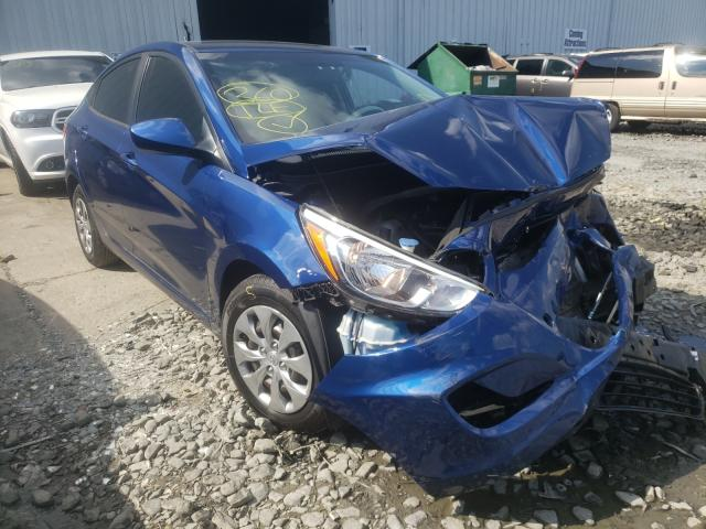 Salvage cars for sale from Copart Grantville, PA: 2017 Hyundai Accent SE