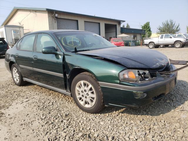 Chevrolet Impala salvage cars for sale: 2002 Chevrolet Impala