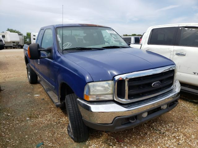 Salvage cars for sale from Copart San Antonio, TX: 2003 Ford F350 SRW S